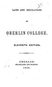 Laws and regulations of Oberlin College