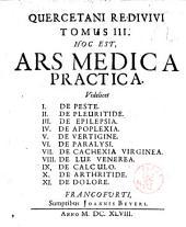 Ars medica practica: Volume 3