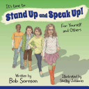 It s Time to Stand Up and Speak Up  Book