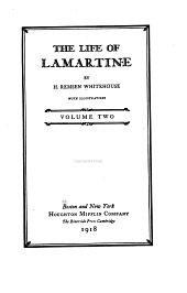 The Life of Lamartine: Volume 2