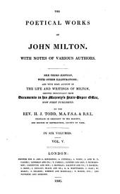 The Poetical Works of John Milton: With Notes of Various Authors