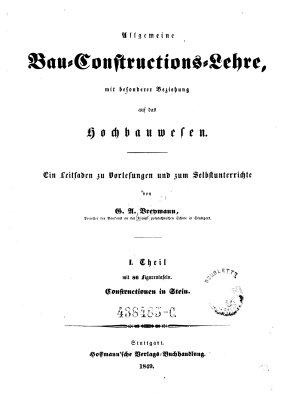 Constructionen in Stein PDF