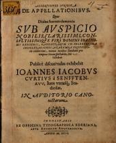 Assertiones iur. de appellationibus