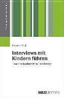 Interviews mit Kindern f  hren PDF