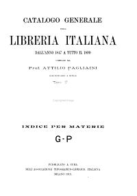 libreria italiana PDF