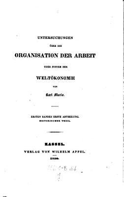 Historischer Theil  Bd 1  Abt  1  2 PDF