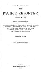 The Pacific Reporter Book PDF