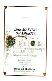 The Making of America: Volume 6