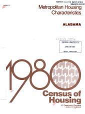 1980 census of housing: Metropolitan housing characteristics. Alabama
