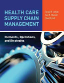 Health Care Supply Chain Management