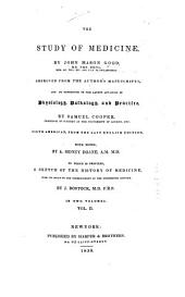 The Study of Medicine: Volume 2