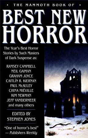 The Mammoth Book of Best New Horror 2003 PDF