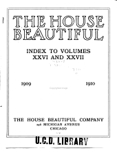 House Beautiful: Volumes 26-27