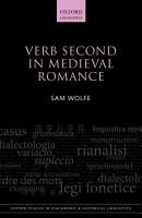 Verb Second in Medieval Romance PDF