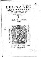 Rerum suo tempore in Italia gestarum commentarius