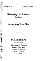 Keeping Your Town Clean: 1917-1919