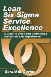 Lean Six Sigma Service Excellence Book PDF