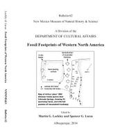 Fossil Footprints of Western North America: Bulletin 62