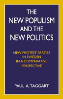 The New Populism and the New Politics PDF