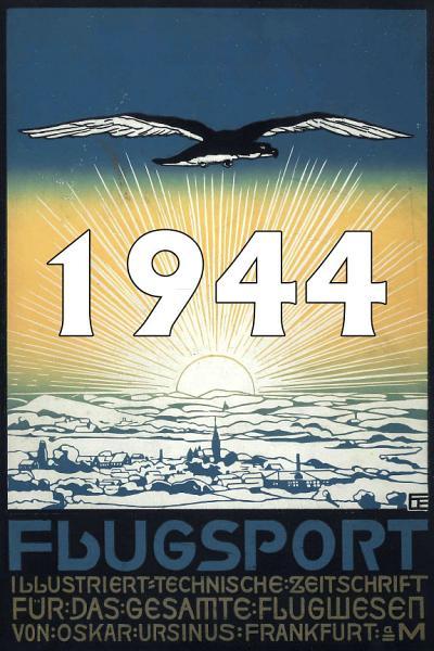 Zeitschrift Flugsport Jahrgang 1944