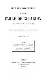 Oeuvres complètes: Théâtre, Volume6