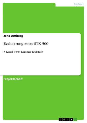 Evaluierung eines STK 500 PDF