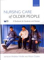 Nursing Care of Older People PDF