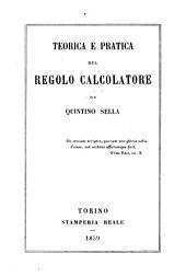 Teorica e pratica del Regolo calcolatore