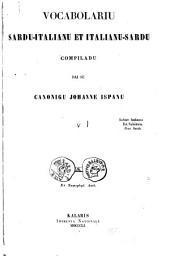 Vocabolario sardo-italiano e italiano-sardo: compilato dal canonico Giovanni Spano