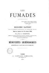 Les Fumades et leurs environs: découvertes archéologiques