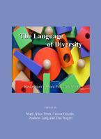 The Language of Diversity PDF