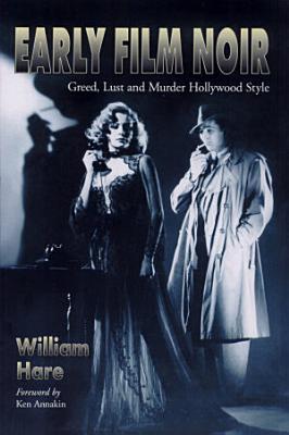 Early Film Noir PDF