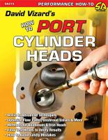David Vizard s How to Port and Flow Test Cylinder Heads PDF