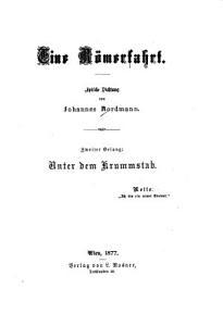 Eine R  merfahrt  Gesang  Unter dem Krummstab PDF