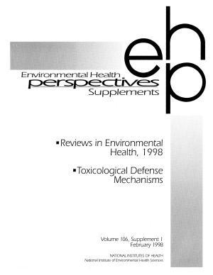 Reviews in Environmental Health  1998  PDF