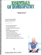 Essentials Of Homeopathy-(Made Easy)