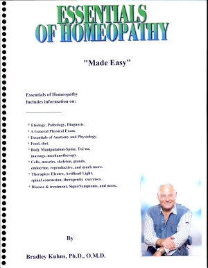 Essentials Of Homeopathy  Made Easy