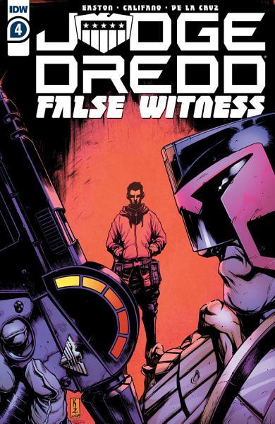 Download Judge Dredd  False Witness  4 Book