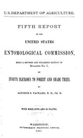 Report of the United States Entomological Commission for the Years ..: Volume 5