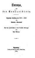 Lorenzo  oder der Conscribirte PDF