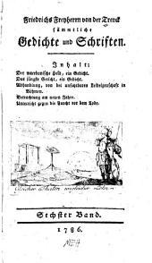 Sämmtliche Gedichte un Schriften: Band 6