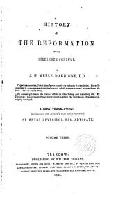 History of the reformation in the 16 century by ---