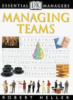 DK Essential Managers  Managing Teams PDF