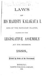 Laws of His Majesty Kamehameha IV