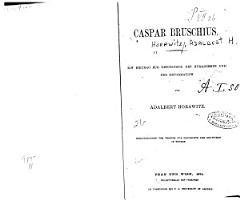 Caspar Bruschius PDF
