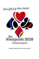 Shuffling the Deck  The Knutpunkt 2018 Printed Companion PDF