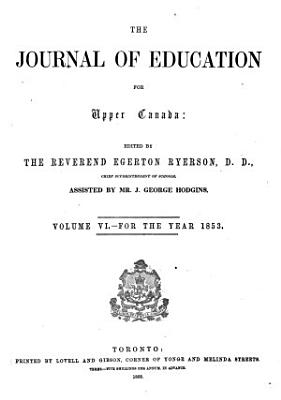 The Journal of Education for Upper Canada PDF