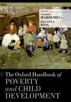 The Oxford Handbook of Poverty and Child Development PDF
