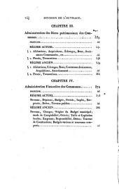 Histoire critique du pouvoir municipal, de la condition des cités, des villes et des bourgs et de l'administration comparée des communes en France, depuis l'origine de la Monarchie jusqu'à nos jours