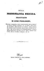 Della monomania suicida trattato